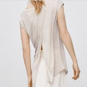 Artizia Wilfred Tee with open back